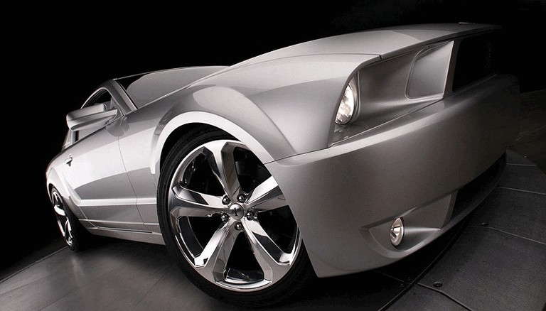 2009 Ford Mustang - 45th anniversary - silver edition for Lee Iacocca 261217