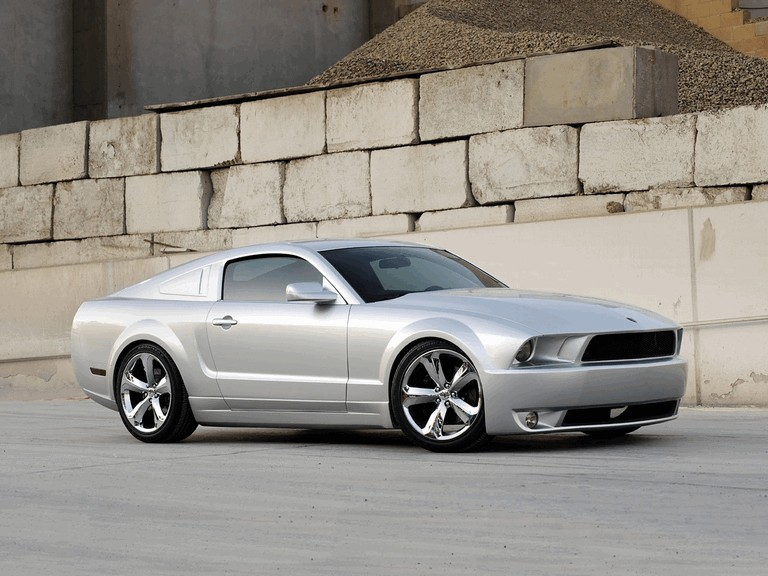 2009 Ford Mustang - 45th anniversary - silver edition for Lee Iacocca 261225