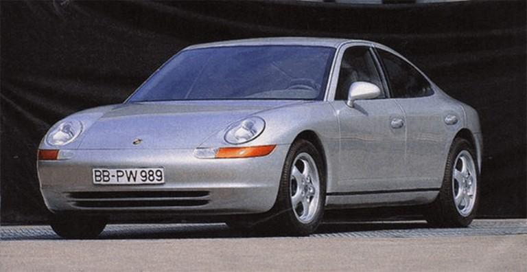 1989 Porsche 911 ( 989 ) sedan concept 261400