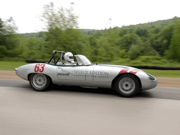 1963 Jaguar E-Type Select Edition Roadster Show Car #63 (2004 Season) 194765