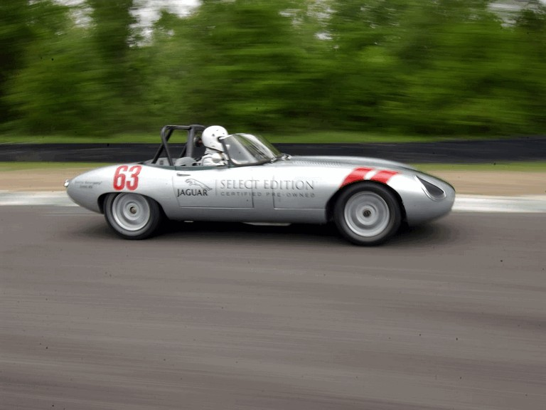 1963 Jaguar E-Type Select Edition Roadster Show Car #63 (2004 Season) 194769