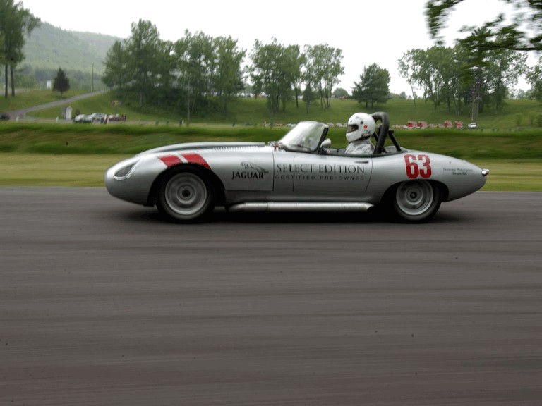 1963 Jaguar E-Type Select Edition Roadster Show Car #63 (2004 Season) 194781