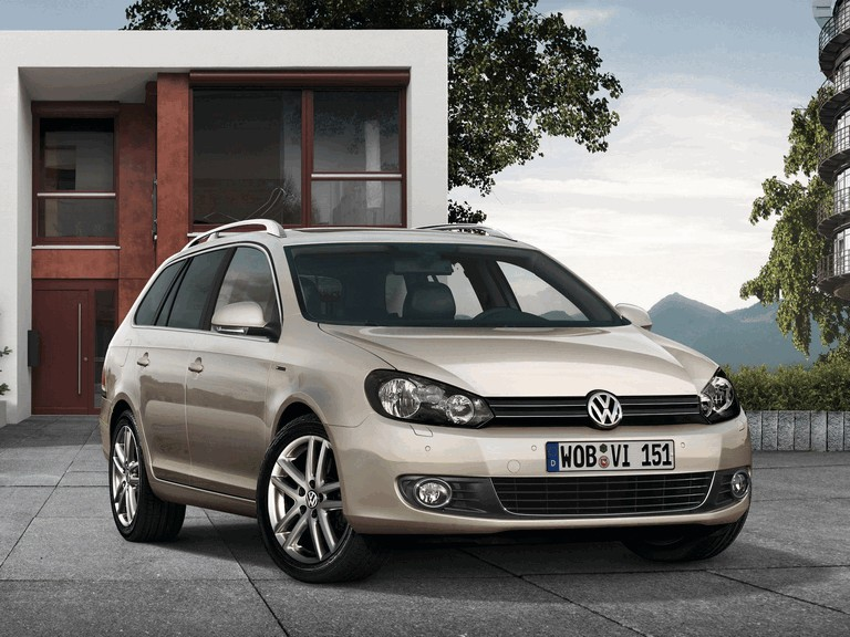 2009 Volkswagen Golf Variant Exclusive 267886