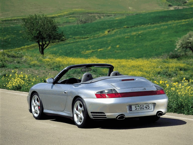2004 Porsche 911 Carrera 4S cabriolet 201323