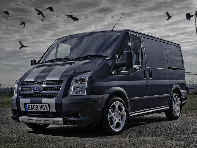2009 Ford Transit SportVan silver grey - UK version 269159