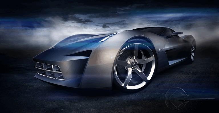 2009 Chevrolet Corvette Stingray Concept 50th Anniversary Free