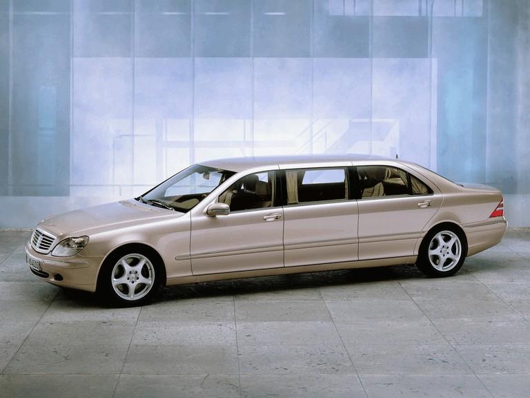 2001 Mercedes-Benz S600 ( W220 ) Pullman 270053