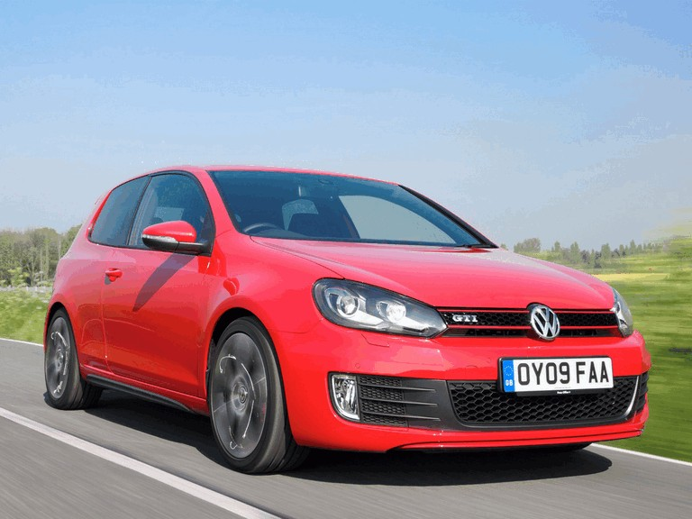 2009 Volkswagen Golf VI GTI 3-door - UK version 270128