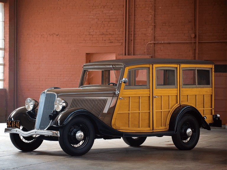 1933 Ford V8 Station Wagon 270641