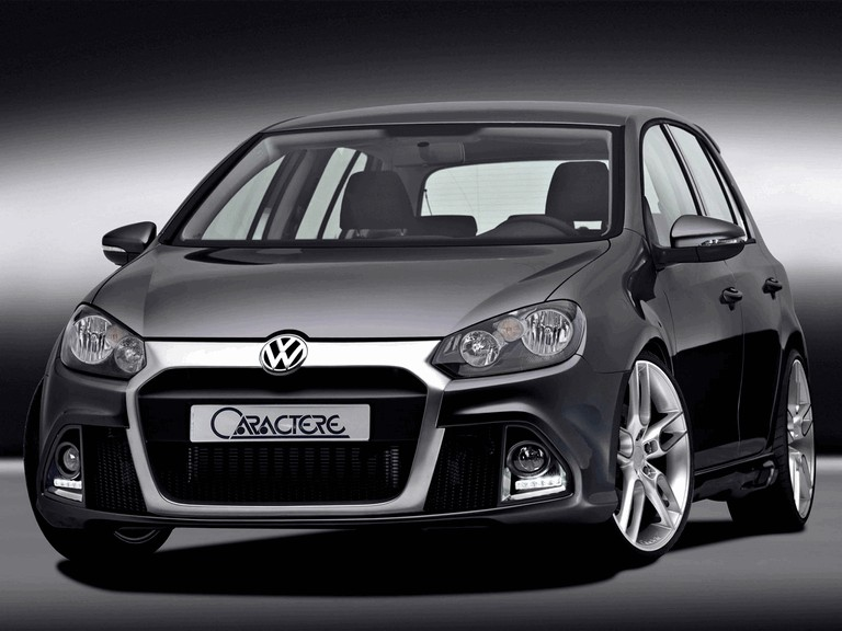 2009 Volkswagen Golf VI by Caractere 271280