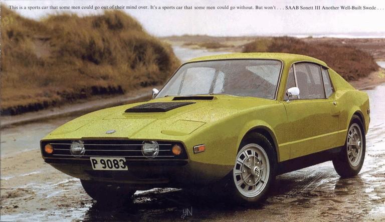 1974 Saab Sonett III 272251