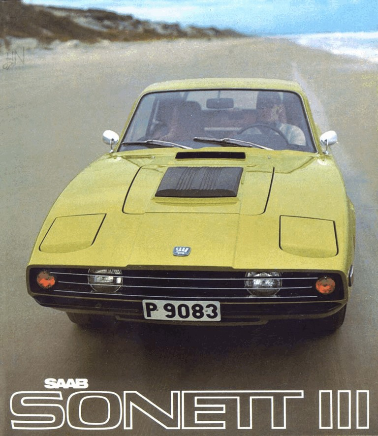 1974 Saab Sonett III 272252