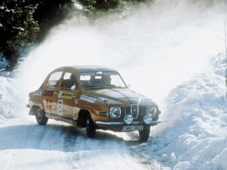 1969 Saab 96 rally car 272266
