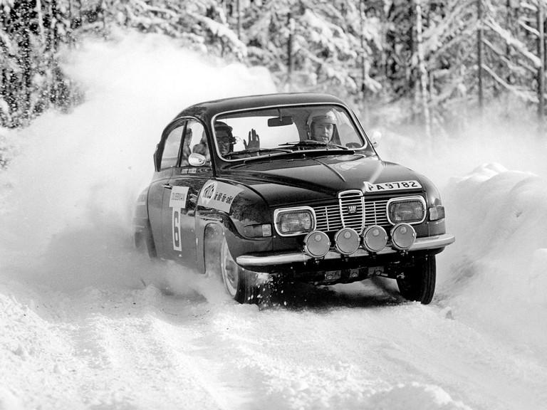 1969 Saab 96 rally car 272267