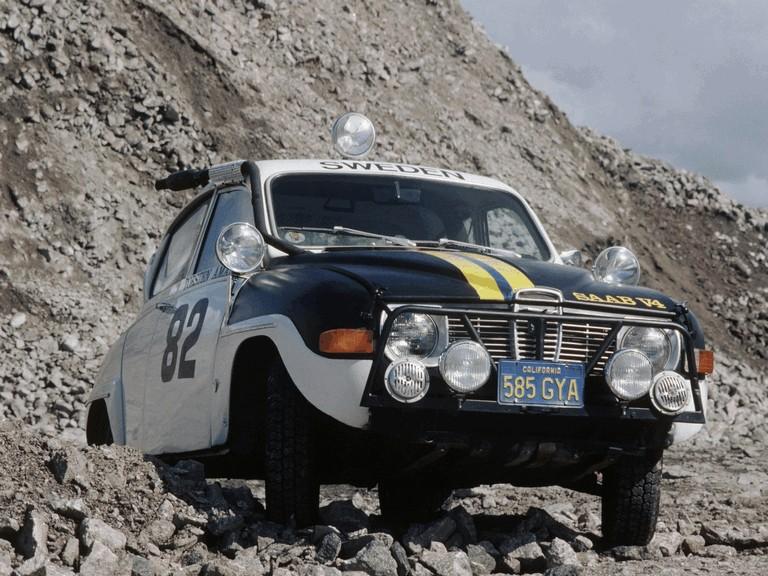 1969 Saab 96 rally car 272268