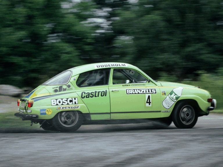 1969 Saab 96 rally car 272269