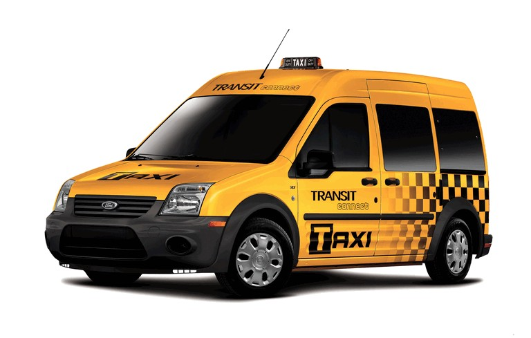 2011 Ford Connect Taxi 277078