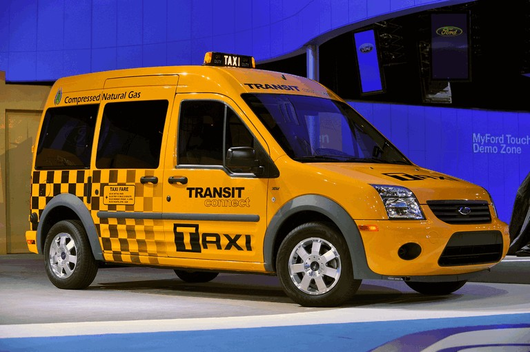 2011 Ford Connect Taxi 277086