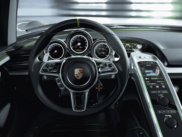 2010 Porsche 918 spyder concept 277744