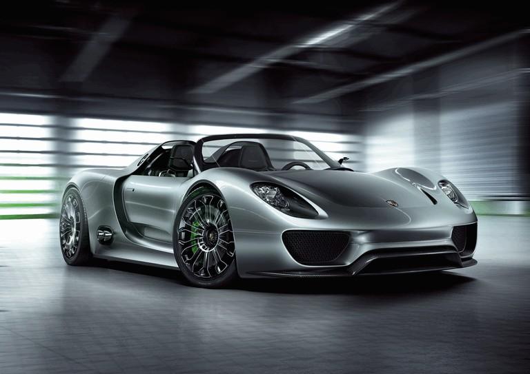 2010 Porsche 918 spyder concept 277745