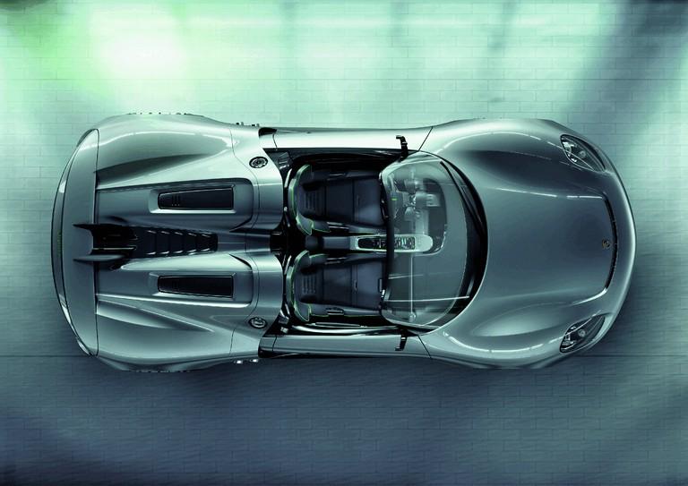 2010 Porsche 918 spyder concept 277749