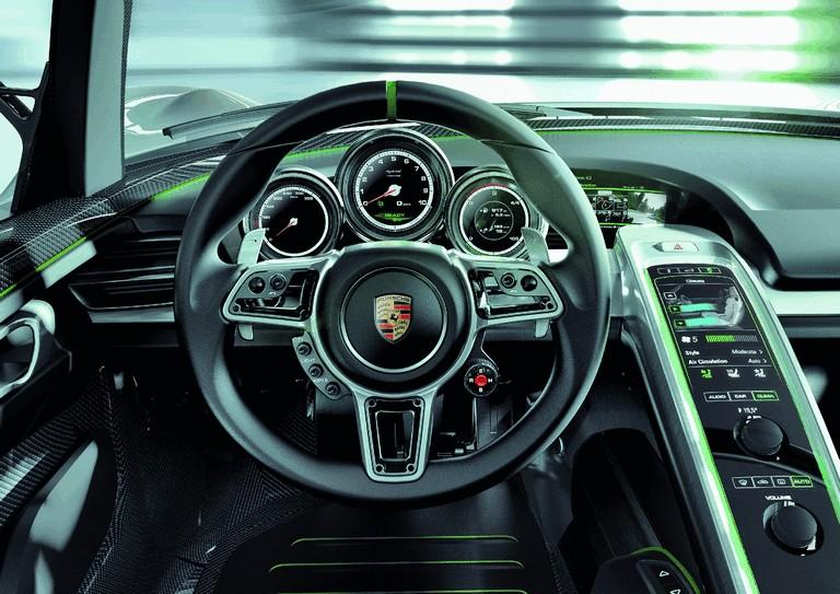 2010 Porsche 918 spyder concept 277753