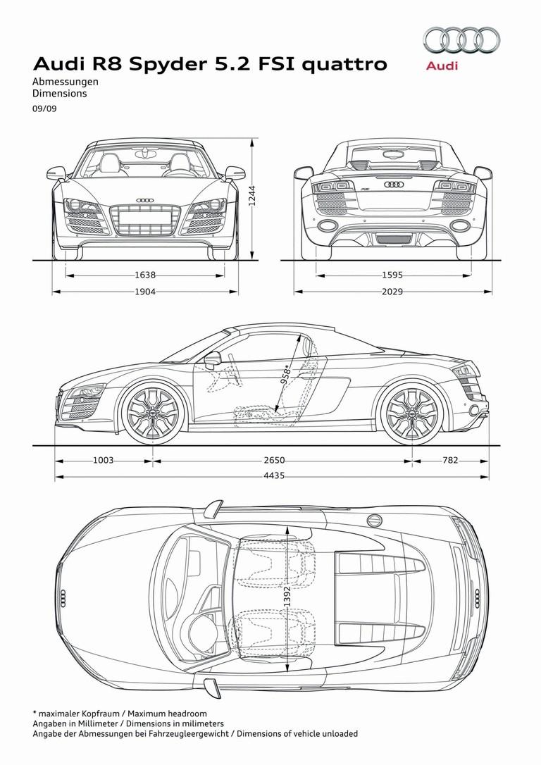 2009 Audi R8 V10 spyder 278190