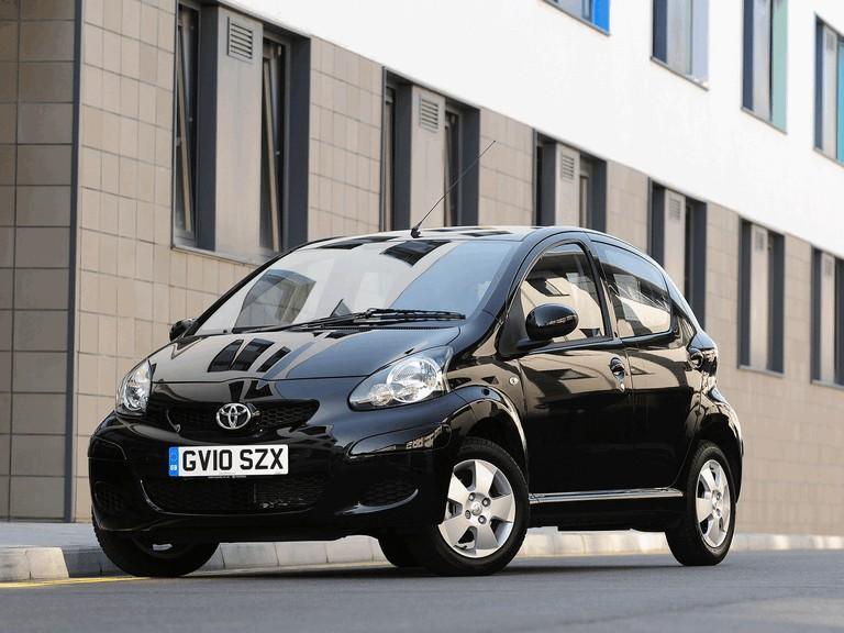 2010 Toyota Aygo Black - UK version 278442
