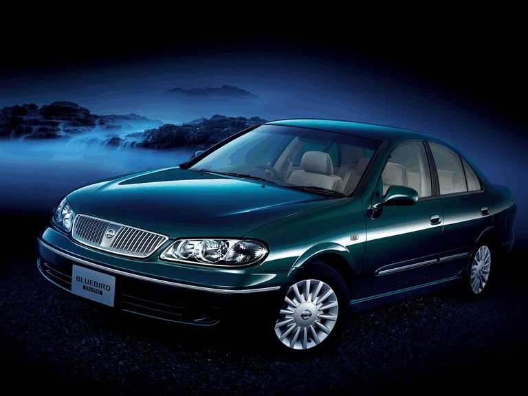 2004 Nissan Bluebird Sylphy 18Vi-G japanese version 203073