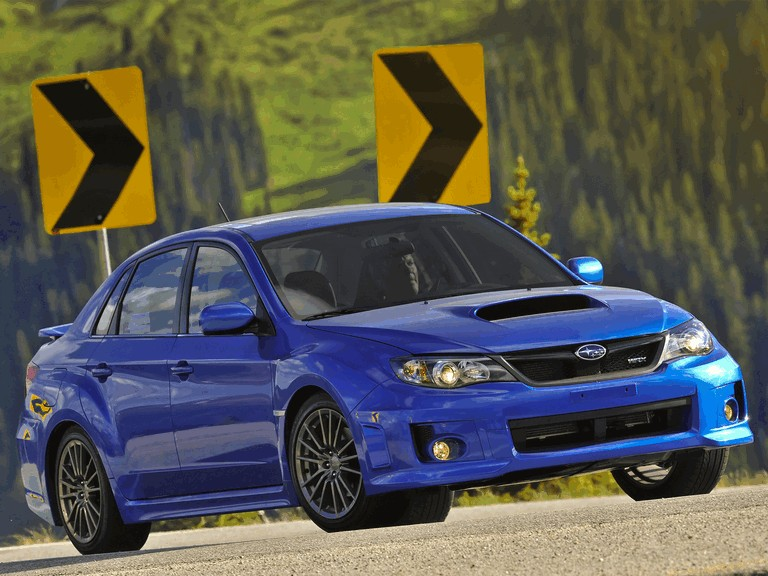 2010 Subaru Impreza WRX sedan - USA version 279028