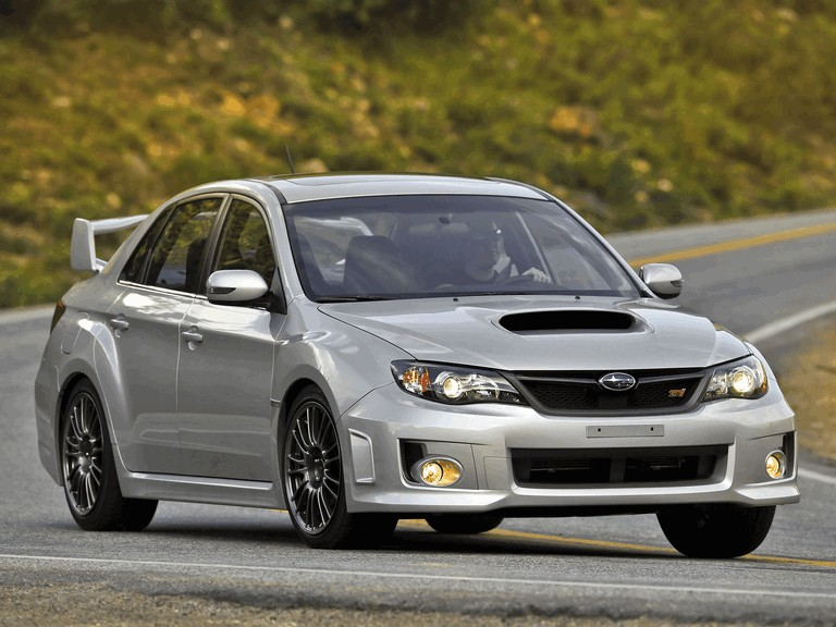 2010 Subaru Impreza WRX STi sedan - USA version 279083