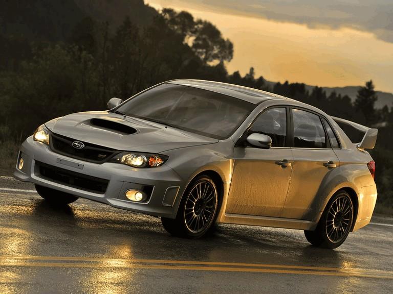 2010 Subaru Impreza WRX STi sedan - USA version 279089