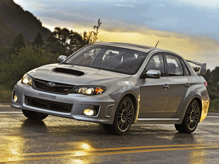 2010 Subaru Impreza WRX STi sedan - USA version 279090