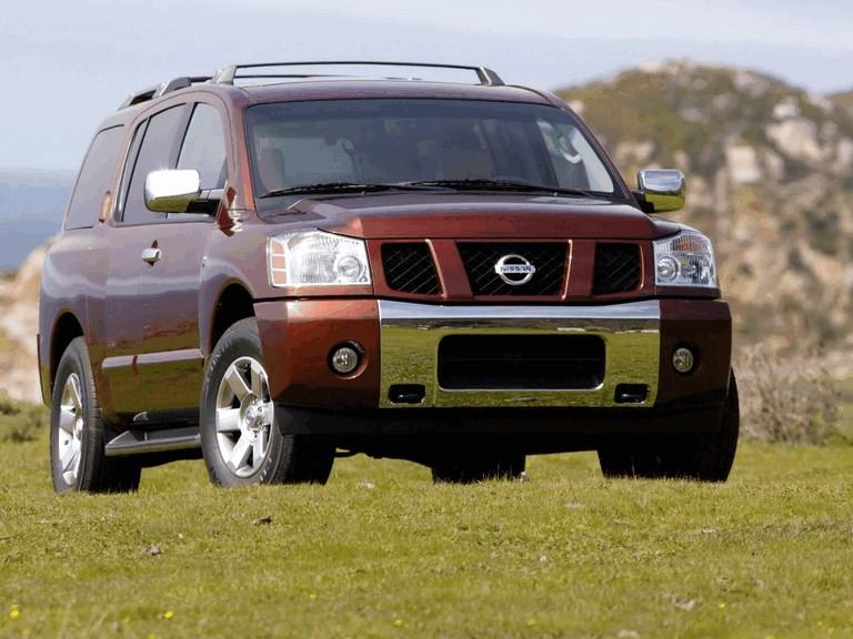 2004 Nissan Pathfinder Armada 203101