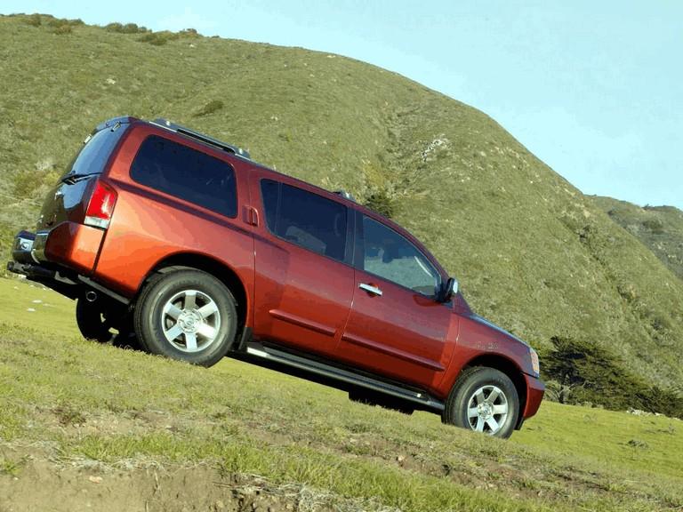 2004 Nissan Pathfinder Armada 203106