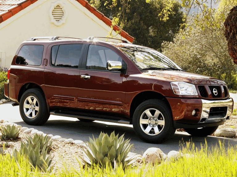 2004 Nissan Pathfinder Armada 203108