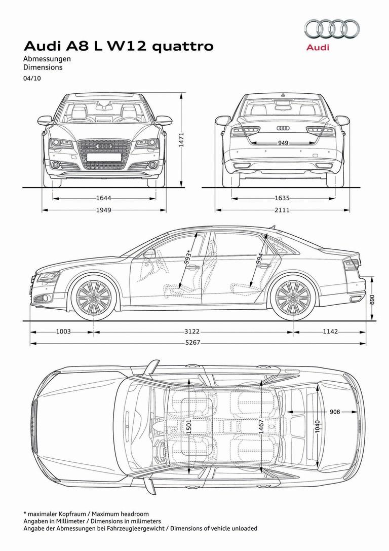 2010 Audi A8 L W12 Quattro 279731