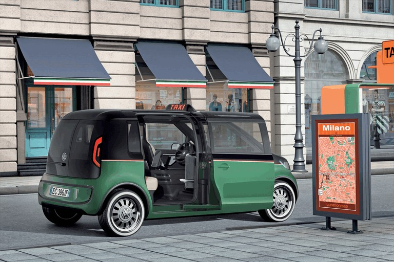 2010 Volkswagen Milano Taxi concept 280107