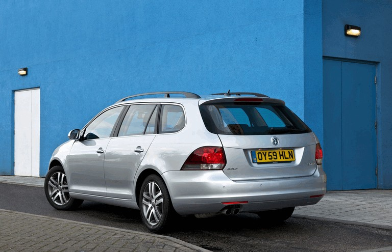 2009 Volkswagen Golf Estate - UK version 280475