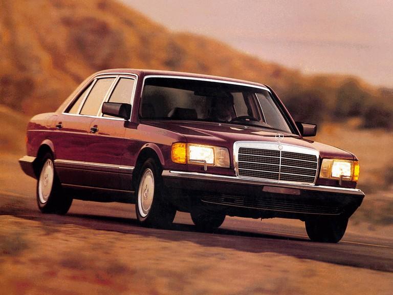 1985 Mercedes-Benz 420SEL ( W126 ) - USA version 281216