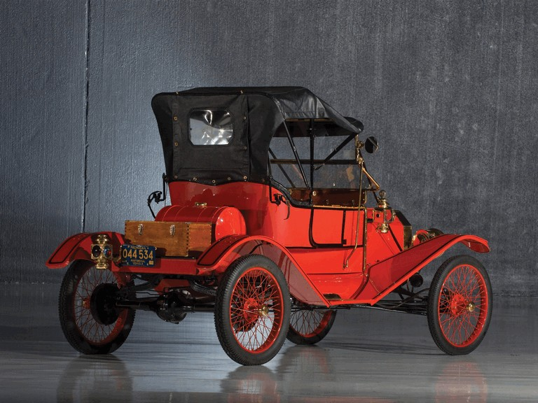 1911 Ford Model T Torpedo Runabout 281289