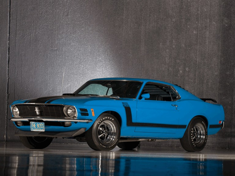 1970 Ford Mustang Boss 302 281330