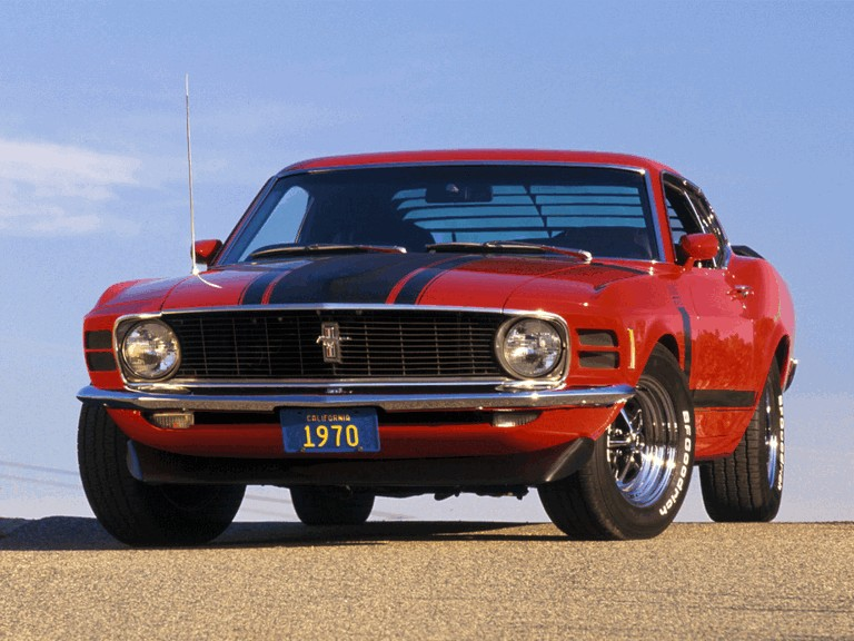 1970 Ford Mustang Boss 302 281335