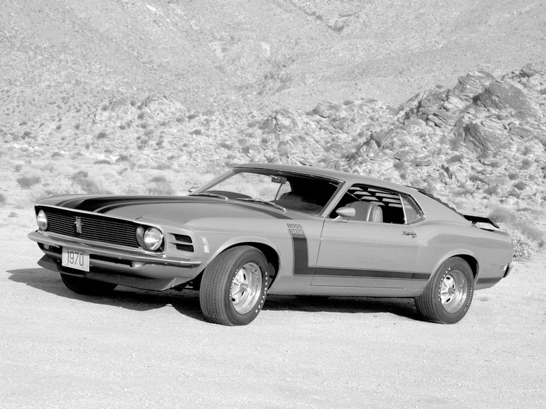 1970 Ford Mustang Boss 302 281338