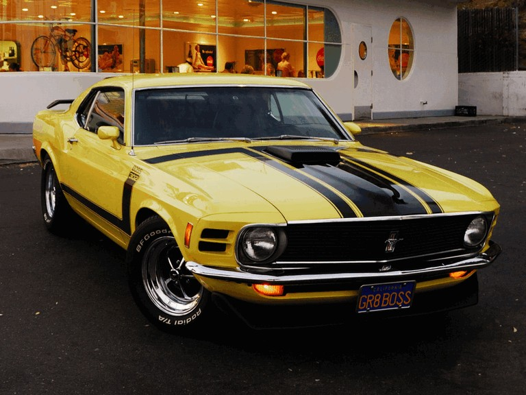 1970 Ford Mustang Boss 302 281339