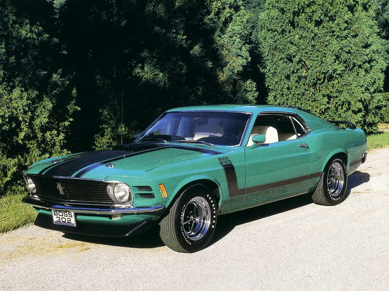1970 Ford Mustang Boss 302 281341
