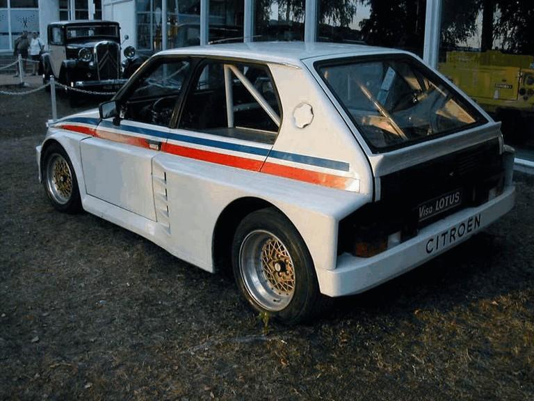 1982 Citroën Visa Lotus prototype 282085