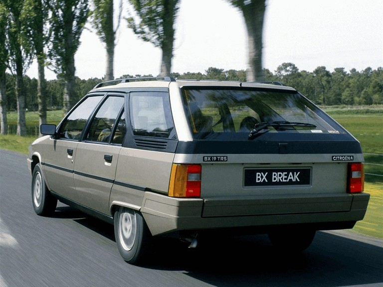 1985 Citroen BX Break 19TRS 282541