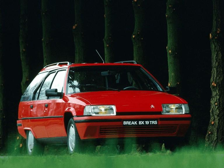 1986 Citroën BX Break 19TRS 283911