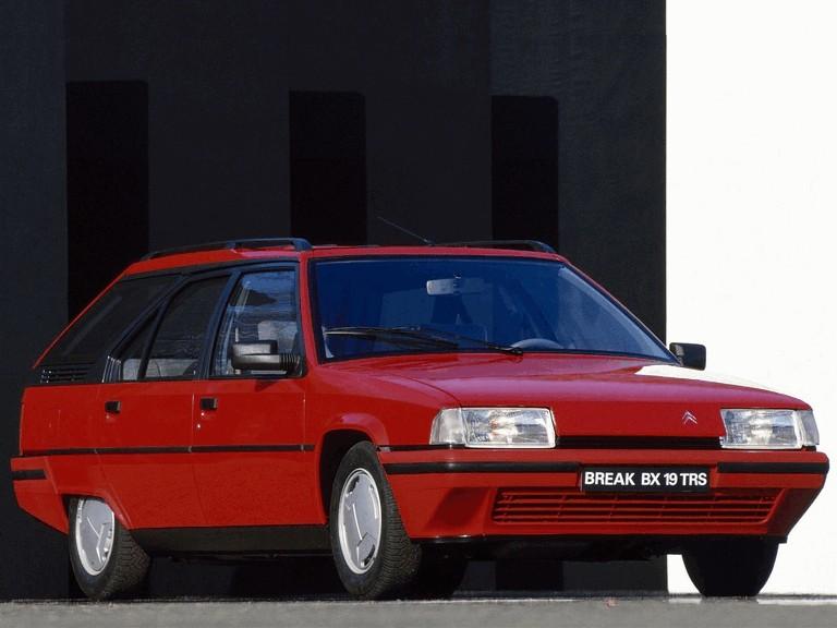 1986 Citroën BX Break 19TRS 283912